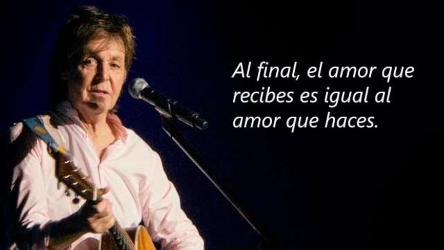45 Grandes Frases de Paul McCartney
